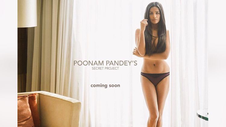 poonam pandey tweets about her secret project