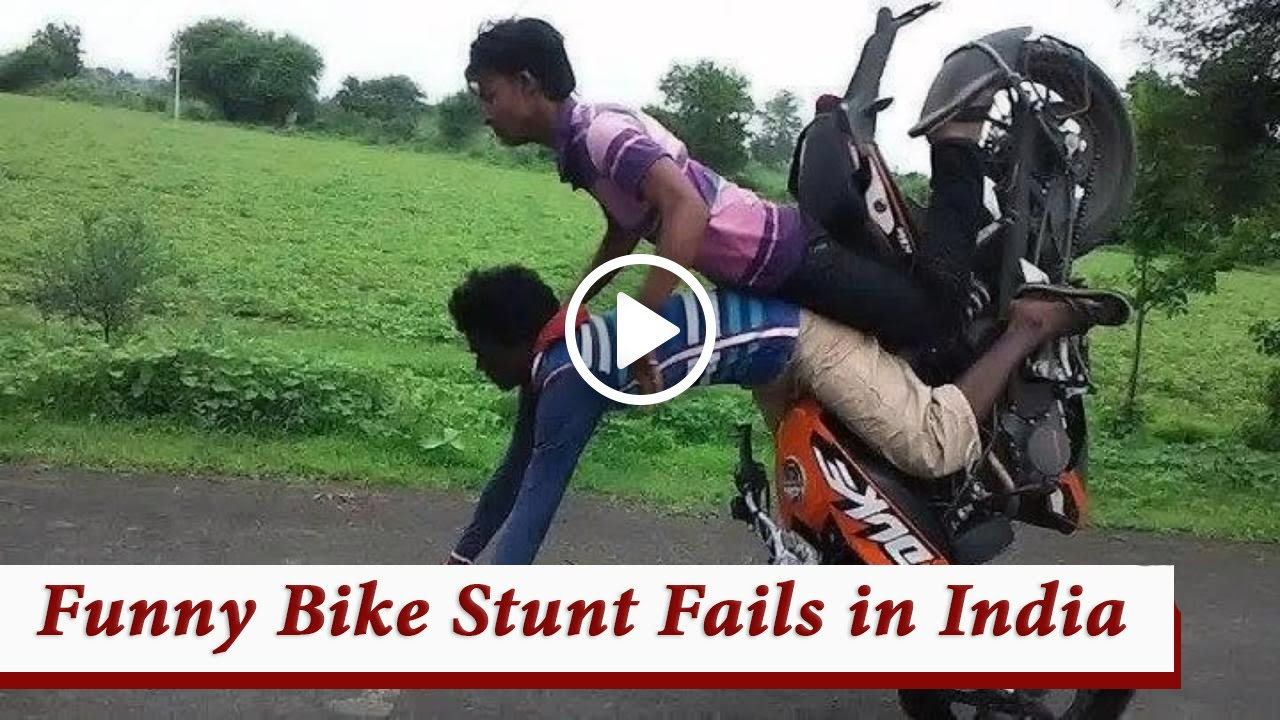 This bike stunt video
