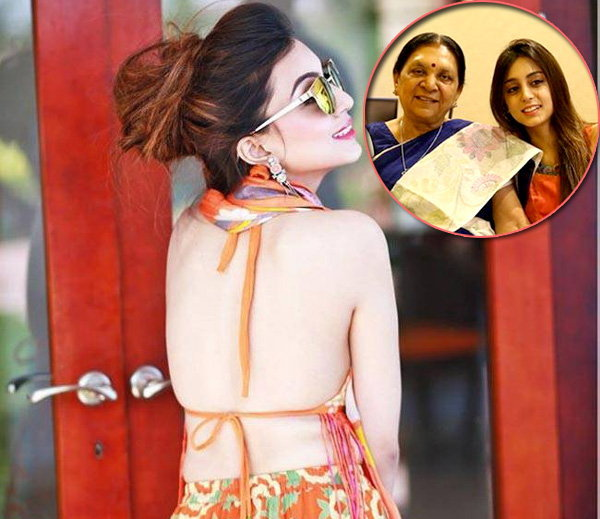 photos of anandiben's granddaughter sanskruti got viral