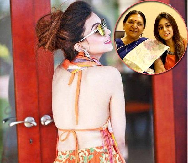 photos of anandiben's granddaughter sanskruti got viral