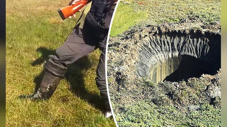 Underground methane bubbles video