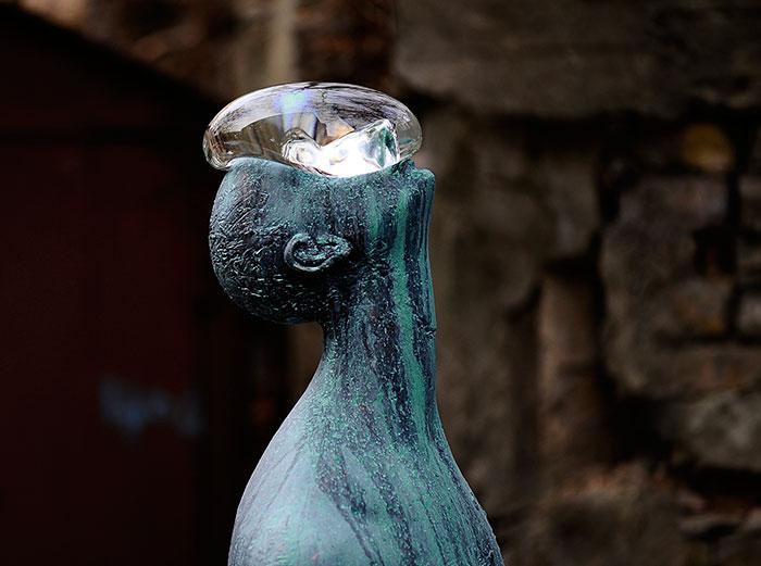 rain sculpture