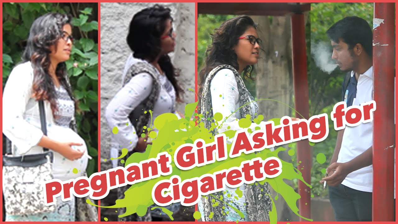Pregnant Girl Asking for Cigarette Twist in the End