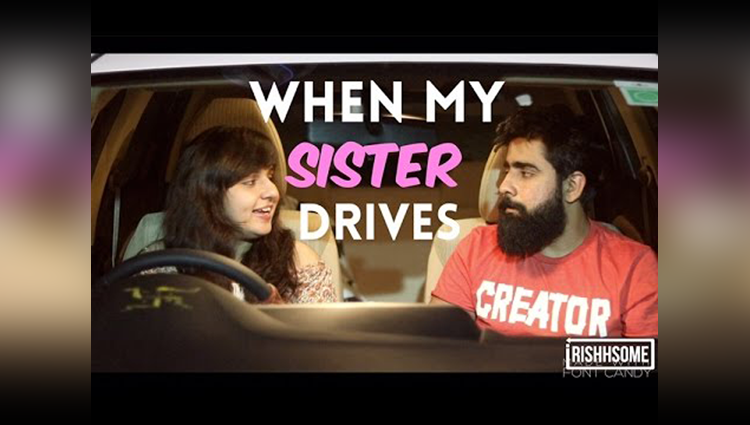 Video: Hilarious Answers By Sister While She Driving  A Car
