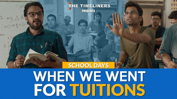 when we went for tuitions