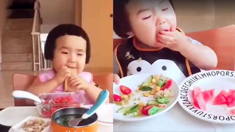 An eating machine like a robot