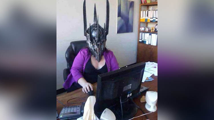 Funny Photos of office People