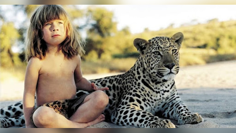 Meet Real Life Mowgli: A French Girl Who Spent 10 Years of her Childhood with African Animals