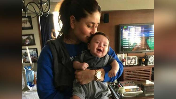 kareena kapoor khan and baby taimur photo