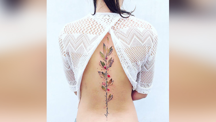 natutre in tattoos