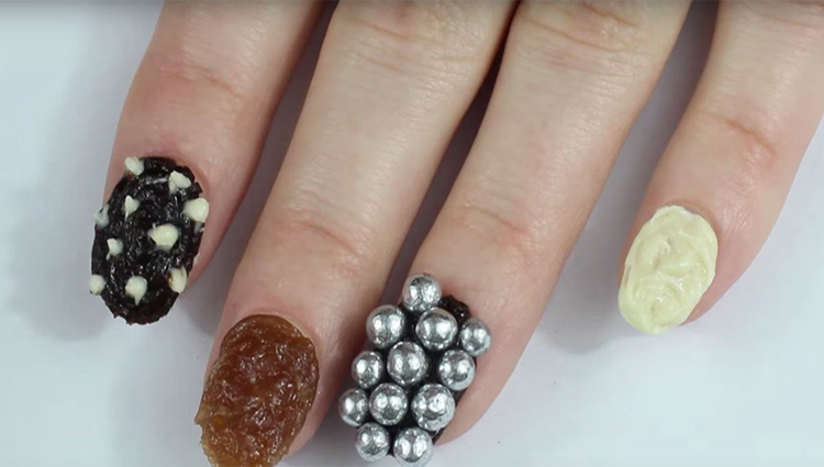 If You Are A Nail Biter, You Should Try This Nail Edible Chocolate