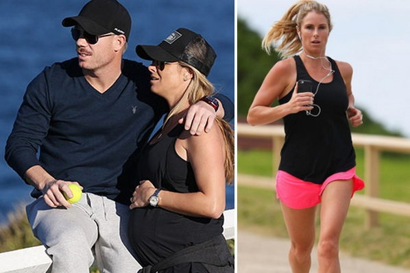 wife of the cricketers catched by camera with baby bump