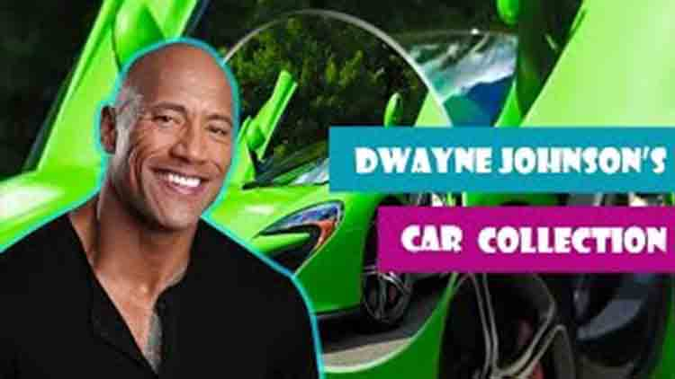 dwayne johnson luxury cars collection