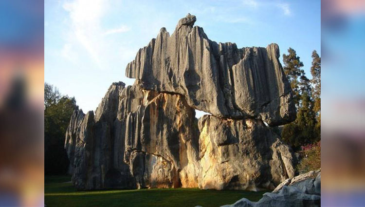 Mythical Shilin Stone Forest of China