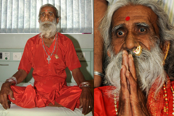 Drink without eating anything from the last 70 years this gentleman alive