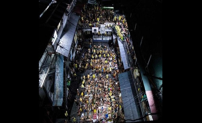 over crowded philippines jail