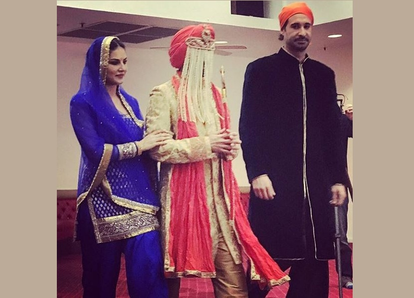 sunny leone brother marriage