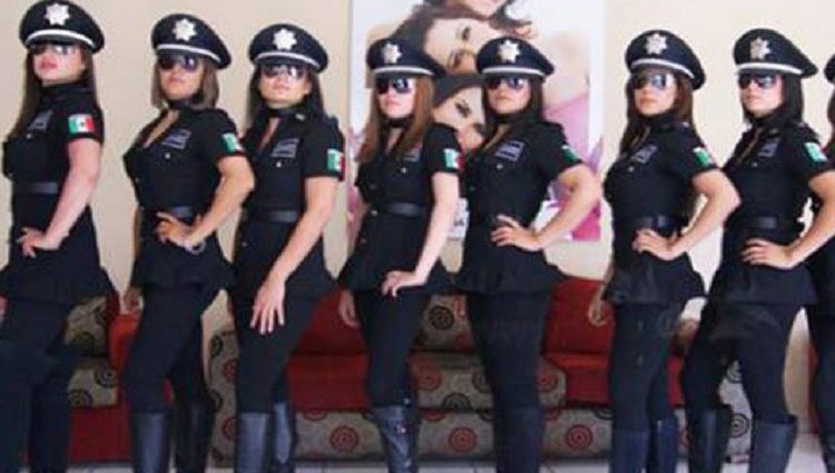 world sexiest female police force