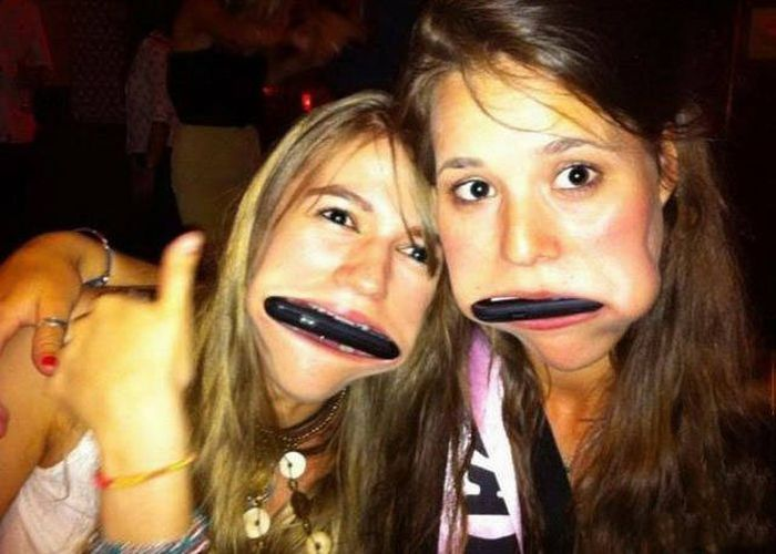 funny pictures of girls selfies