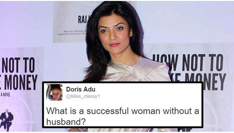 Sushmita Sen Answer To All The Tweet InThe Wittiest Way