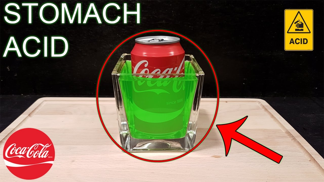 coca-cola vs stomach acid