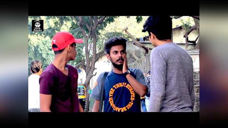 Slapping People In Public Prank Gone Wrong Pranks In India