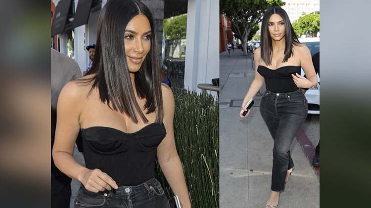 Kim Kardashian Changed Her Looks Again viral pictures