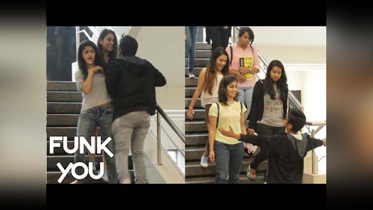 Complimenting Girls You Are So Hot Prank By Funk You