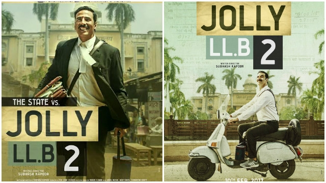 Jolly LLB 2 Official Trailer launched today