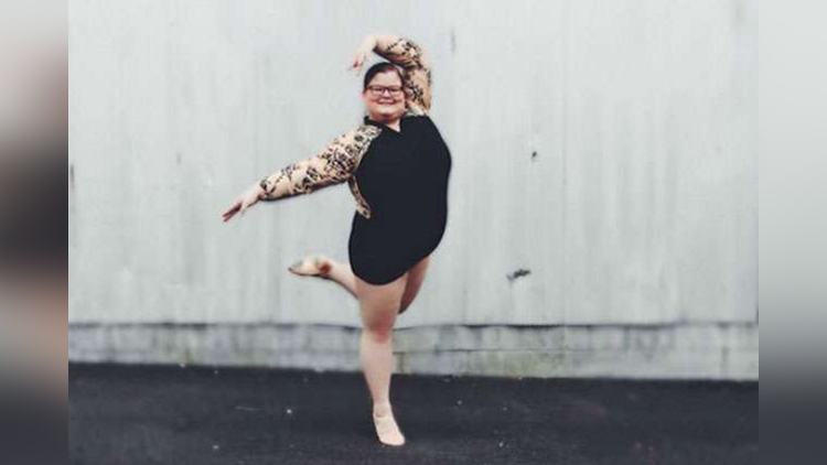 Plus Size 15-Year-Old Ballerina Is A Role Model To Aspiring dance