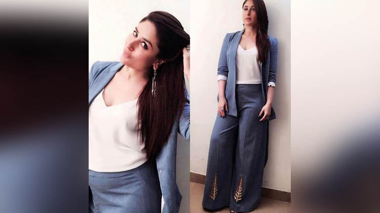 kareena kapoors denim wear
