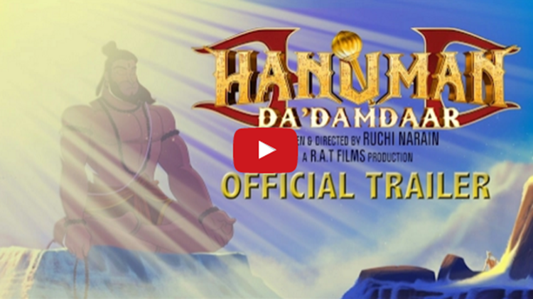 Hanuman Da Damdaar official trailer