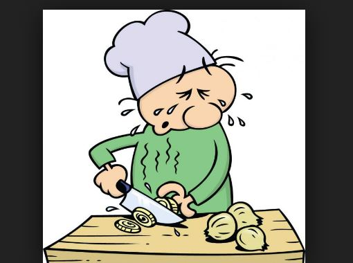 Why does chopping an onion make you cry