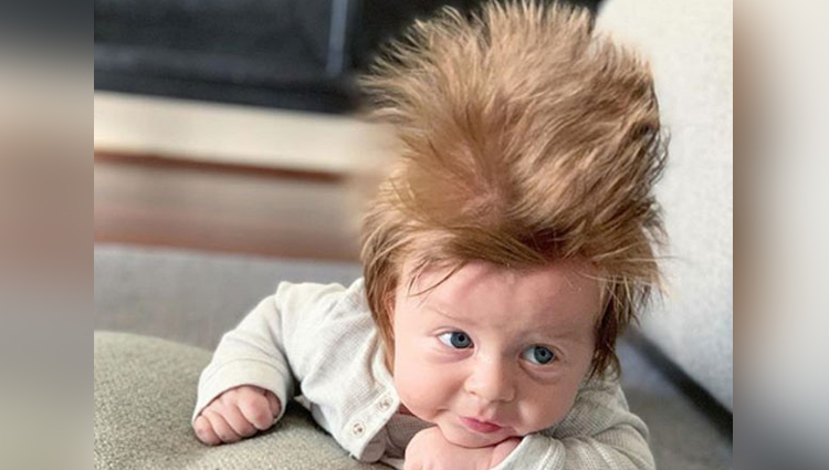This 4 Months Old Boys Hair Is Making People Crazy In Australia