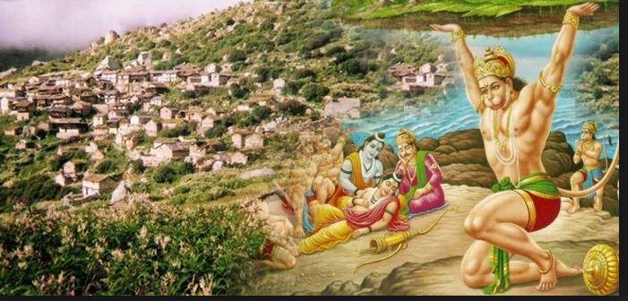 uttarakhand dronagiri villagers not worship lord hanuman