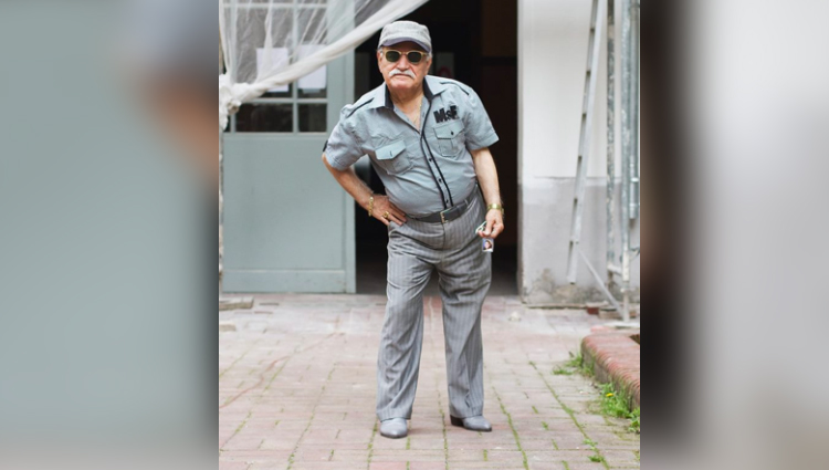 Pictures of the week What Ali Wore by Zoe Spawton 83 year old Ali