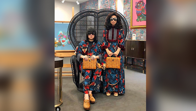 Thai Mother and Son Duo Take Matching Outfits to a Whole New Level