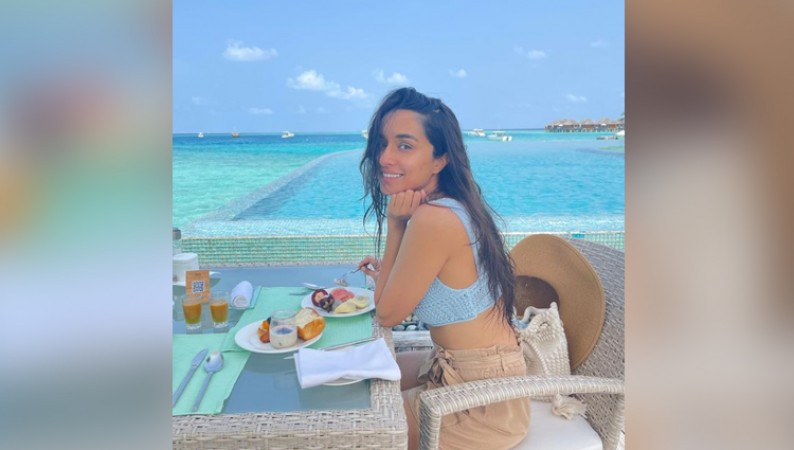 shraddha kapoor maldives photos