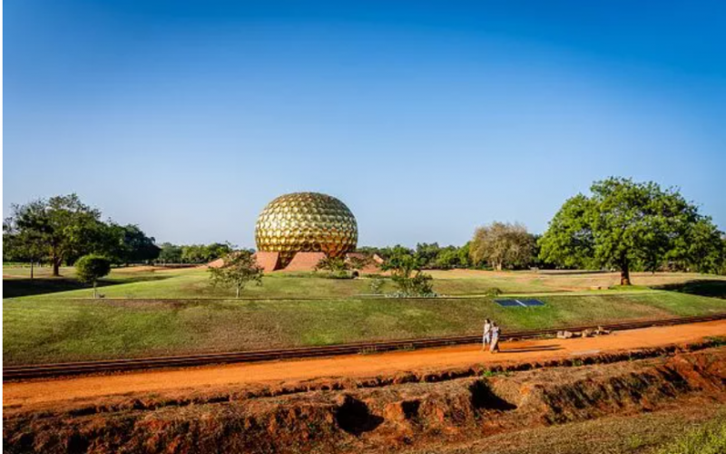 Auroville A Place in where there is no religion no money