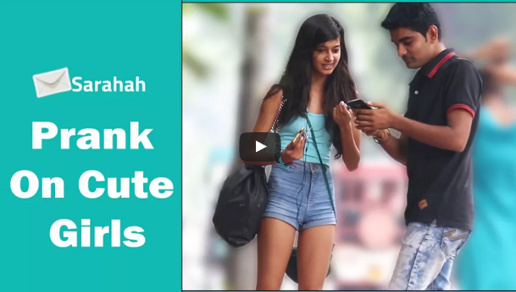 Sarahah Prank On Cute Girls The HunGama Films