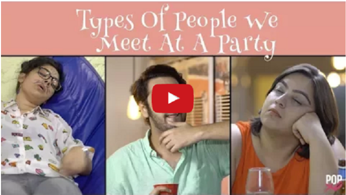 Types Of People We Get To Meet At A Party