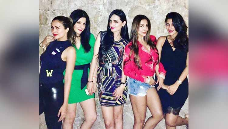 Pictures: Neha Dhupia Party Hard With Her Squad On 37th Birthday