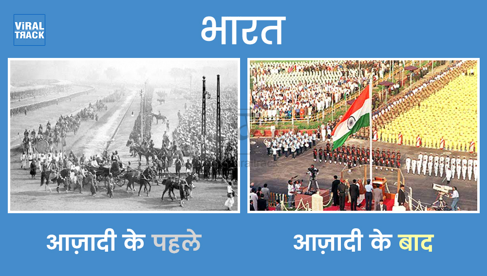 major Changes after independence in india