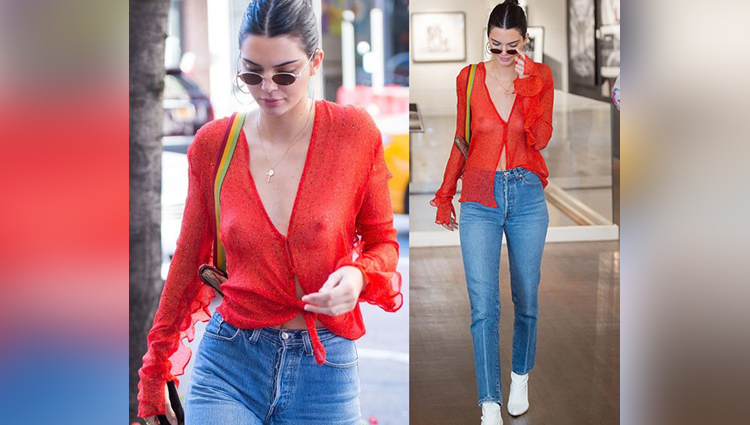 Kim Kardashian And Kendall Jenner Went Braless In These Latest Pics
