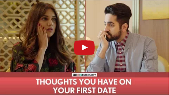 Thoughts You Have On Your First Date