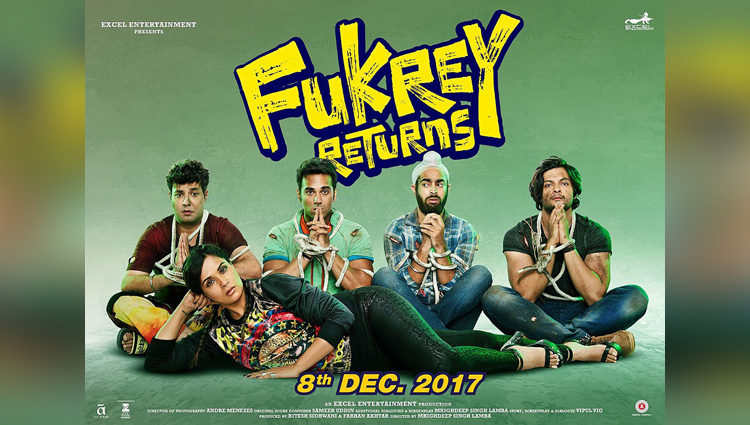 Fukrey Returns first poster out