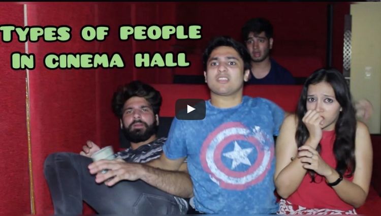 Types Of People In cinema Hall Harsh Beniwal