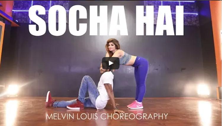 Socha Hai Melvin Louis ft Elena Durgaryan Baadshaho