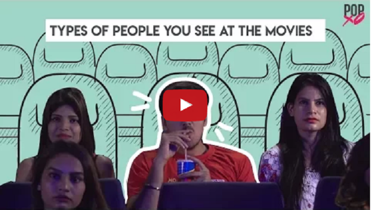 Types Of People You See At The Movies
