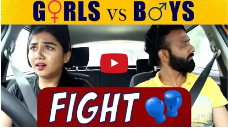 Girls vs Boys After A Fight Ft BeYouNick MostlySane